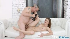 Dirty Flix - Sofy Torn - Sexy porn recruit gets nailed Thumb