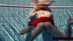Russian teen in Czech pool Thumb