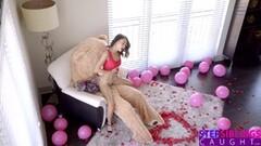 Humping Valentine Teddy Bear With StepBro Inside Thumb