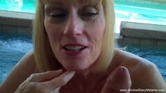 Blondes on fire - hot nude sex wrestling! Thumb