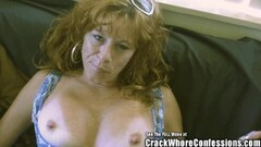 Naughty Red Head MILF Crack Whore Thumb