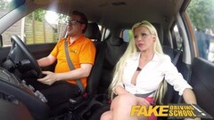 Fake Driving School Barbie Sins sloppy dick sucking Thumb