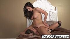 Lesbian fun with Beauties Taylor Vixen and Tori Black Thumb