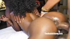 Ebony amateur bbc threesome Thumb