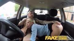 Fake Driving School Sexy blonde Barbie Sins Thumb