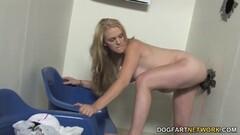 Hydii May takes on big black cock Thumb