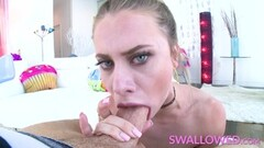 Redhead slut takes it deep ass to mouth Thumb