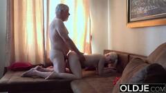 Hung Grandpa Fuck Petite Teen Blowjob Massage Thumb