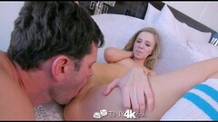 Tiny4k Pink pussy Rachel James fucked and showered Thumb