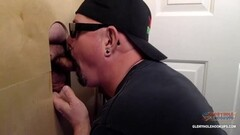 Sexy Milking Time At The Gloryhole Thumb