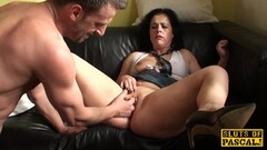 Euro babe gets her pussy slammed Thumb