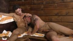 Alexander Gustavo sauna suck Thumb