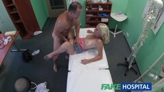 Horny blonde wife blowjobs hubby Thumb