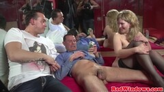 Michelle B gets down on her knees - Demolition Thumb