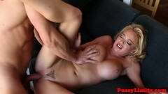 Sexy redhead nurse in latex uniform gets nasty Thumb