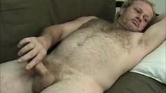 Frisky Mature Kinky Man Jerks Thumb