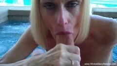 Kinky Amateur Granny Watching You Blowjob Thumb