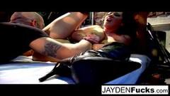 Jayden Jaymes and Natasha Nice Team Up on a big Dick Thumb