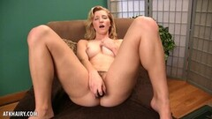 Frisky Brooke Johnson Strips Off Her Panties To Masturbate Thumb