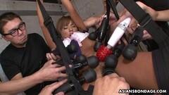 Frisky Greedy Tsubasa Miyashita is squirting while getting fingered Thumb