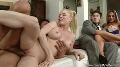 Horny Blonde Hot Wife Cheats On Hubby Thumb