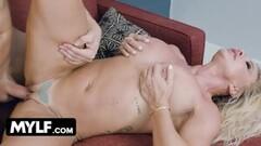 Cute Mature Slut Robbin Banx Gets Dick Served On A Platter Thumb