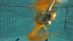 Cute Blonde super tight teen Nastya underwater Thumb