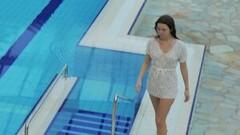 Cute White dressed tight hairy babe Katy Soroka underwater Thumb