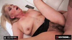 Horny Sex-Crazed Granny Is Desperate For A Good Fucking Thumb