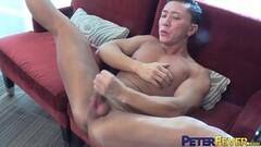 Hot Muscular Asian Shen Powers Jerks Off Dick Solo Thumb