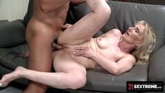 Cute Muscular Dude Loads Up Granny's Mouth With Cum Thumb