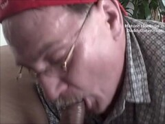 Cum-Swallowing-silverdaddies-Grandpa-Gumjob-on-big-latino-cock Thumb