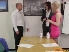 Office femdom affair with Chantelle Fox Thumb