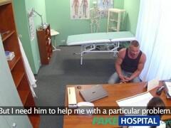 FakeHospital Fit nurse sucks and fucks body builder Thumb