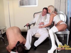Slave-Loves-Licking-Shoes-And-Boots-Clea Thumb