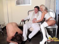 Slave Loves Licking Shoes And Boots Clean Thumb