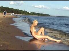 Young nudist beach teen Thumb