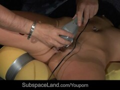 Slave strong masturbated while she is motioneless tied Thumb
