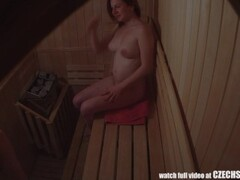 Amateur Three Girls Spied in Sauna Thumb