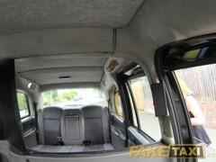 FakeTaxi Sassy Romanian with perfect tits gets taxi facial Thumb