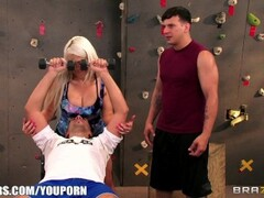 PunishTeens - Skinny Blonde Gets Tied and Chained Thumb