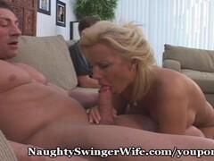 Naughty Wifey Has Her Fantasy Thumb