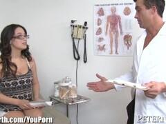 Big Tits Girl With Glasses Masturbation Thumb