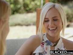 BLACKED First interracial threesome for Ash Hollywood and Kate England Thumb