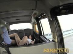 FakeTaxi Office romance revenge in London cab Thumb