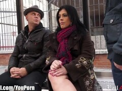 Spanish MILF Picked up in Public and DP'd Thumb