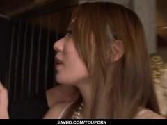 Kazumi Nanase feels several men fucking her cherry Thumb
