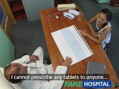FakeHospital Russian chick gives doctor a sexual favour Thumb