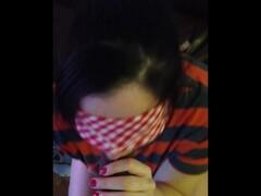 Random Blindfolded BJ Thumb