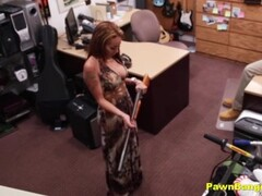 Busty Latina Milf Banged By Shop Manager For Extra Cash Thumb